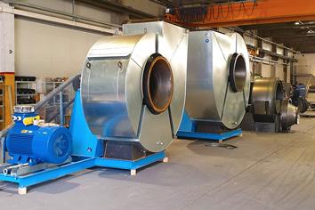 Ventilatoren Slingerland I Industrie